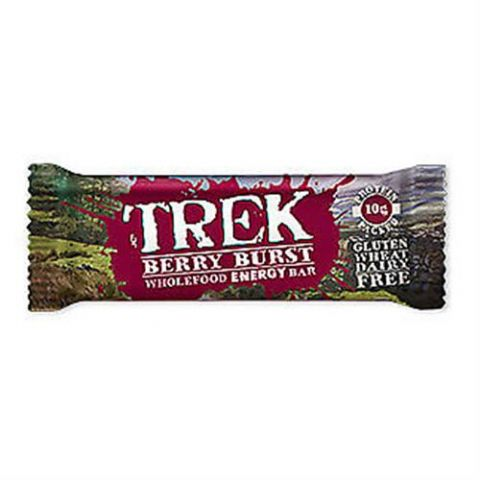 Berry Burst - Trek Protein Energy Bar - No Added Sugar Gluten & Wheat Free 55g